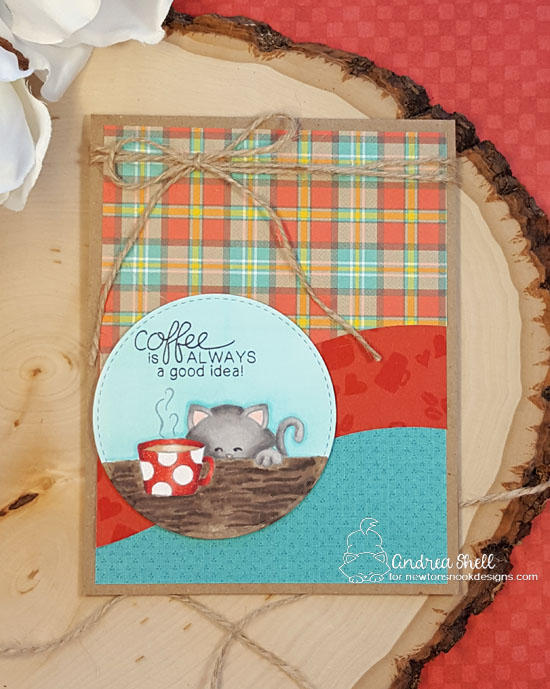 Coffee is always a good idea by Andrea features Newton Loves Coffee by Newton's Nook Designs; #newtonsnook