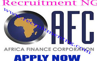 2017 Africa Finance Corporation Graduate Internship