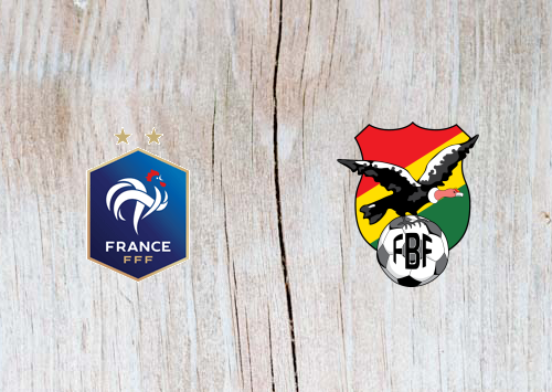 France vs Bolivia Full Match & Highlights 2 June 2019