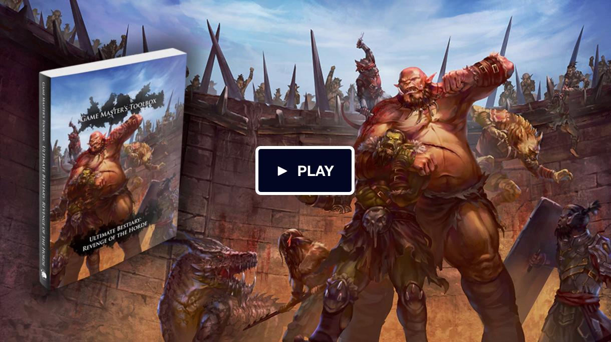 Tenkar's Tavern: Kickstarter - Ultimate Bestiary: Revenge of the