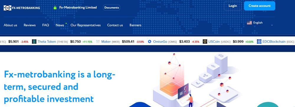 Мошеннический сайт fx-metrobanking.com – Отзывы, развод. Компания Fx-Metrobanking Limited мошенники