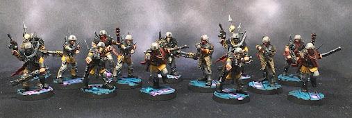 Blackstone Fortress Traitor Guardsmen