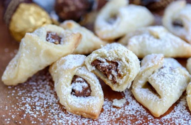 Ferrero Rocher Christmas Cookies #cookies #recipe