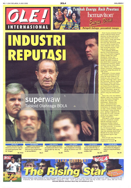 OLE! INTERNASIONAL: INDUSTRI REPUTASI