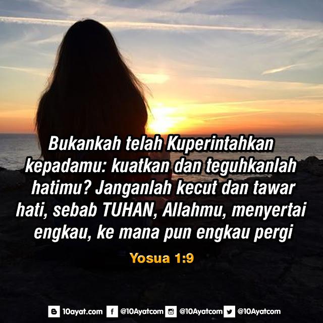 Yosua 1:9