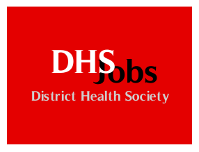 District Health Society Recruitment