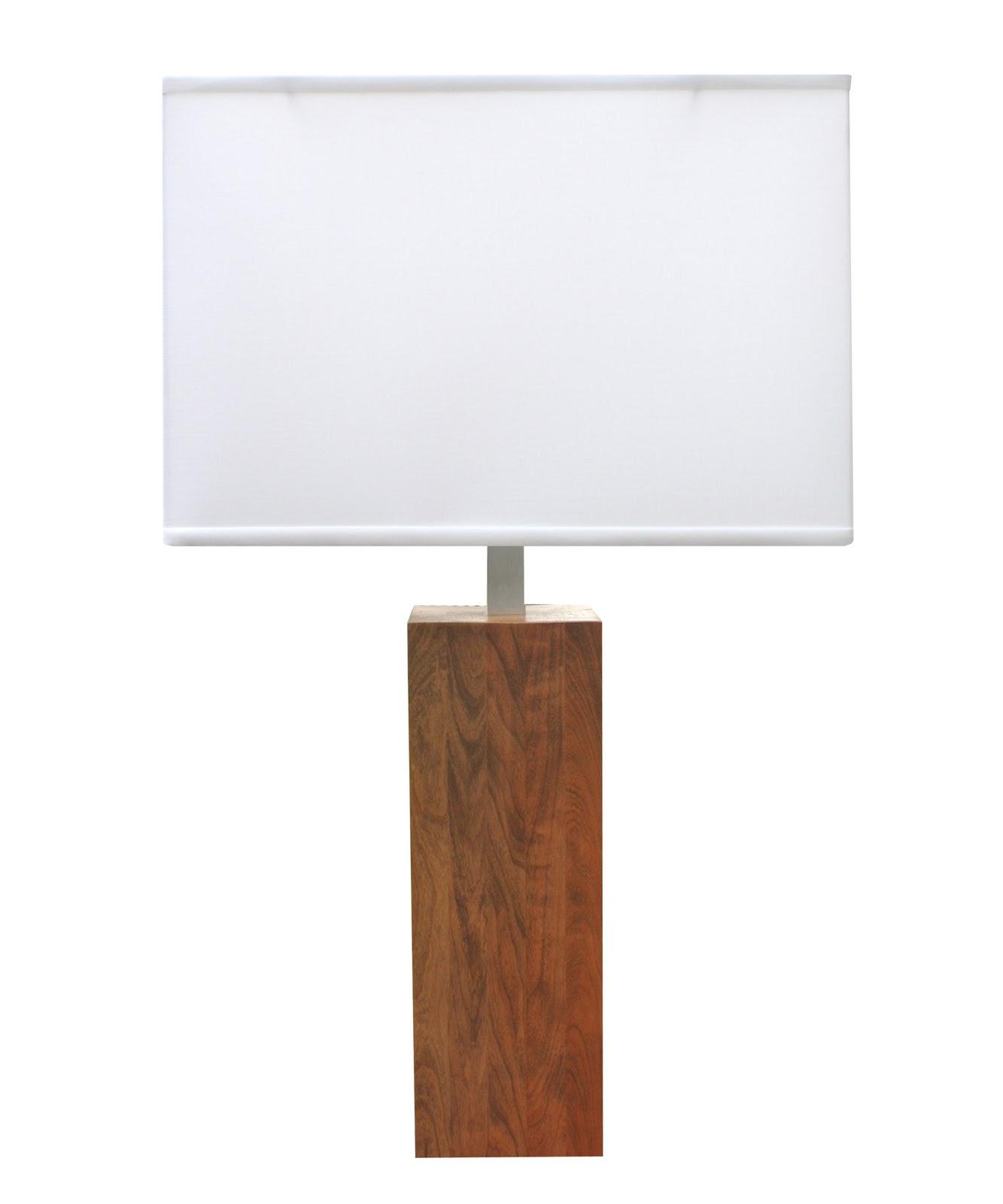 High Street Market: Winston Wood Table Lamp