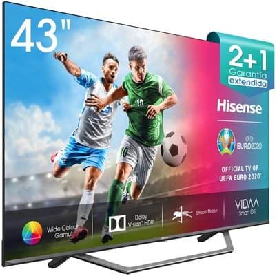 Hisense 43AE7400F UHD TV 2020: análisis
