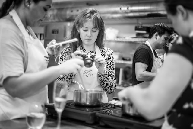 Underground Cookery School - Quorn Blogger Event