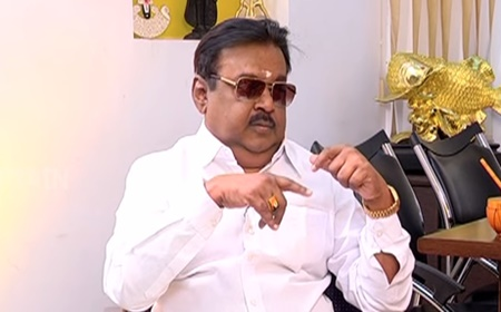 DMDK Chief Captain Vijayakanth Exclusive Interview | Captain TV