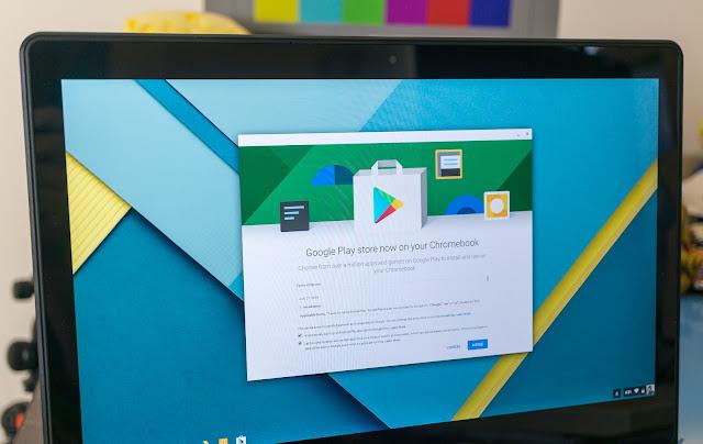 Daftar Chromebook Yang Support Menjalankan Aplikasi Android Dari Google Play