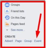 create event facebook