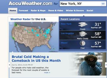Accu weather: Accu Weather