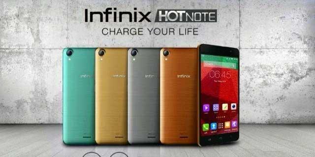 Spesifikasi dan Harga Handphone Infinix Hot Note X551 ...
