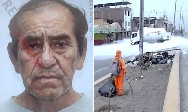 Luis Guzmán Palomino, chofer del camión cisterna que explotó en Villa El Salvador