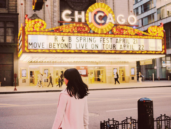 2 days in Chicago itinerary: Chicago theatre