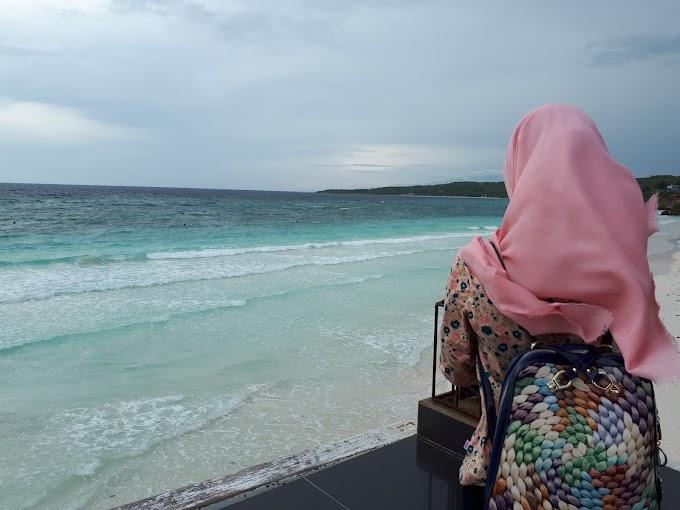 Ke Pantai Lagi! As Husband and Wife ^^