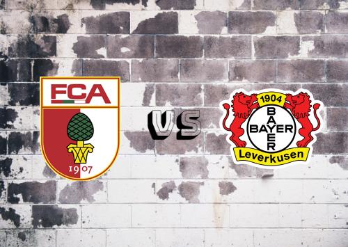 Augsburg vs Bayer Leverkusen  Resumen