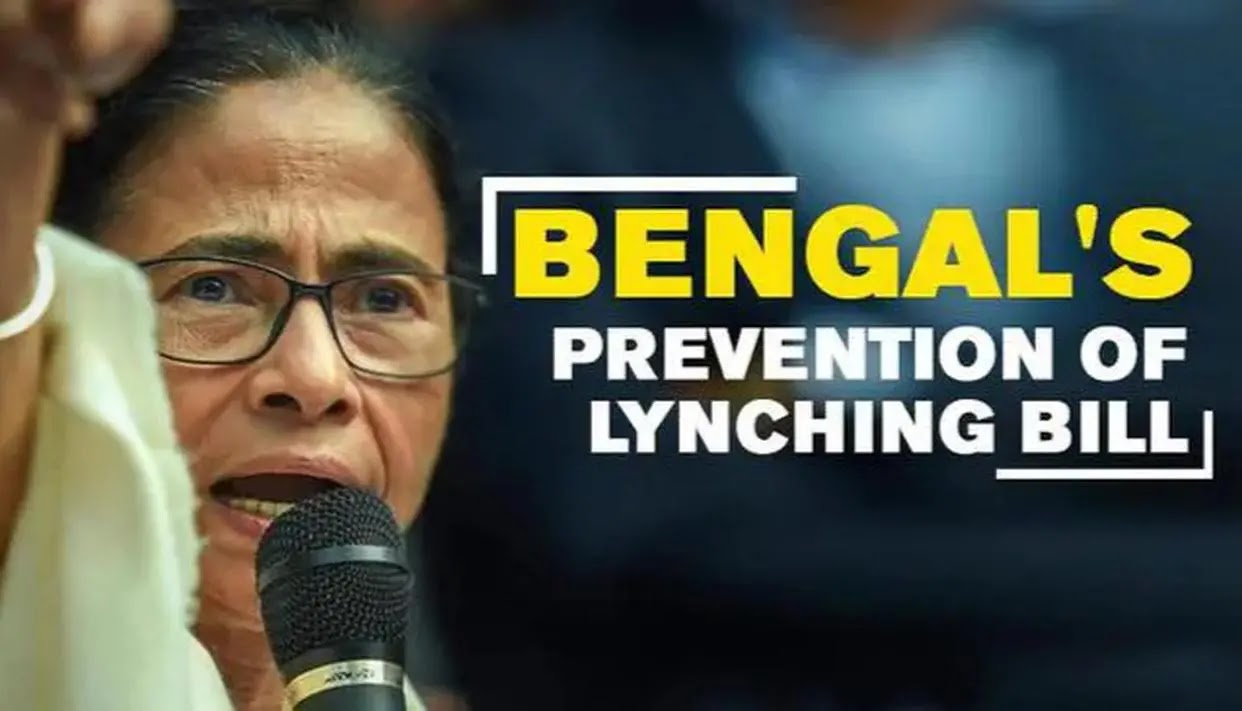 The West Bengal (Prevention of Lynching) Bill, 2019