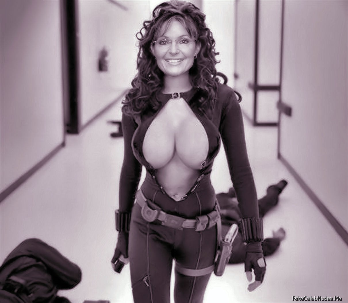 Sara palin naked but