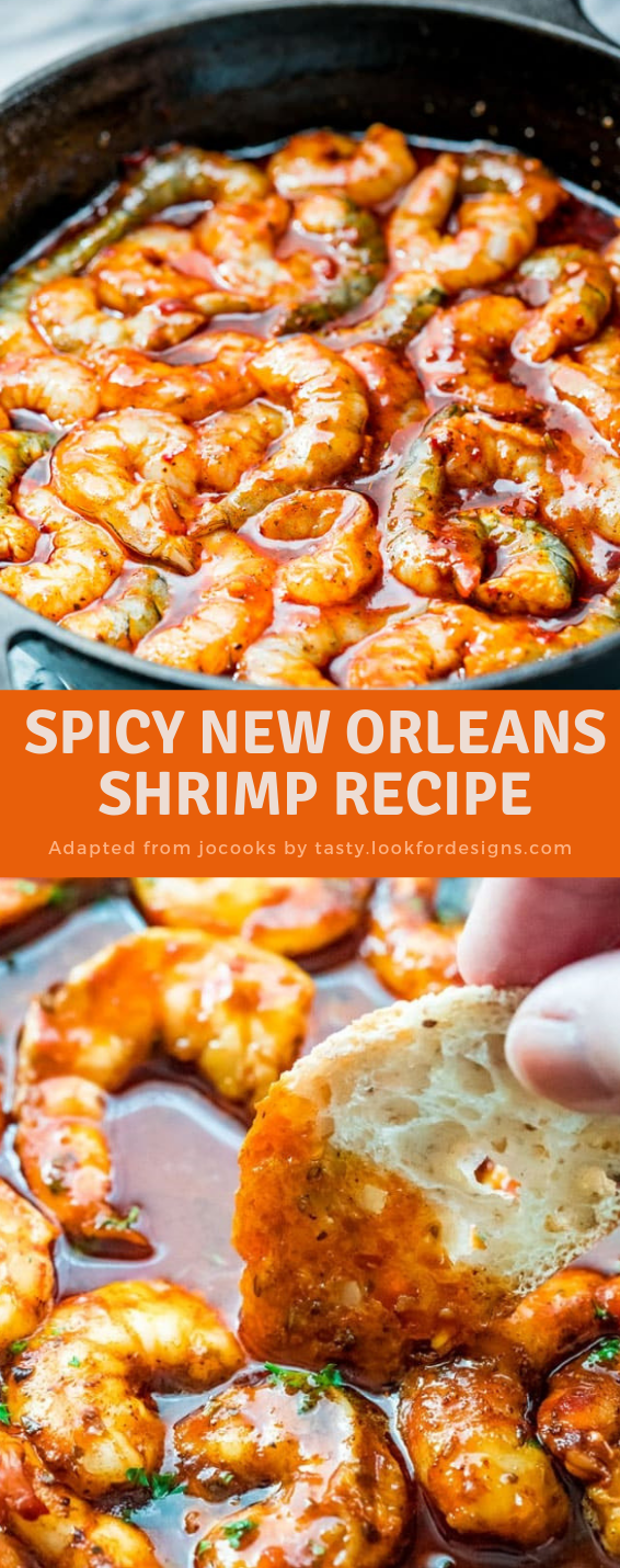 Spicy New Orleans Shrimp Recipe