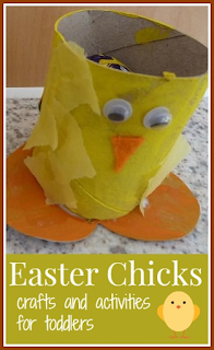 Easter chicks crafts, activities and resources for toddlers