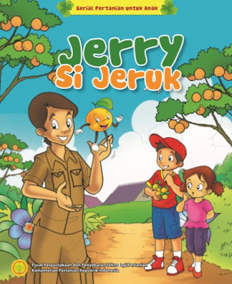 Jerry Si Jeruk - Serial Komik Pertanian