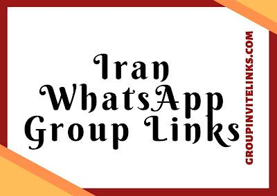 Iran Whatsapp Group Links