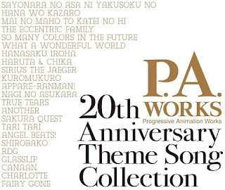P.A.WORKS 20th Anniversary Theme Song Collection
