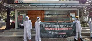 Masyarakat Sipil Tuntut KPK Usut Dugaan Korupsi Korindo Group dan Meminta BNI Hentikan Pendanaan Korindo
