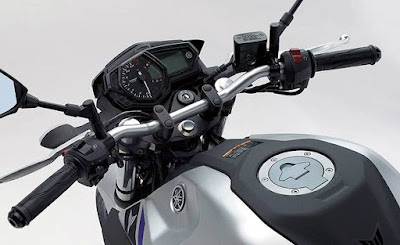 New Just Coming 2016 Yamaha MT-03 stearing Hd Pictures