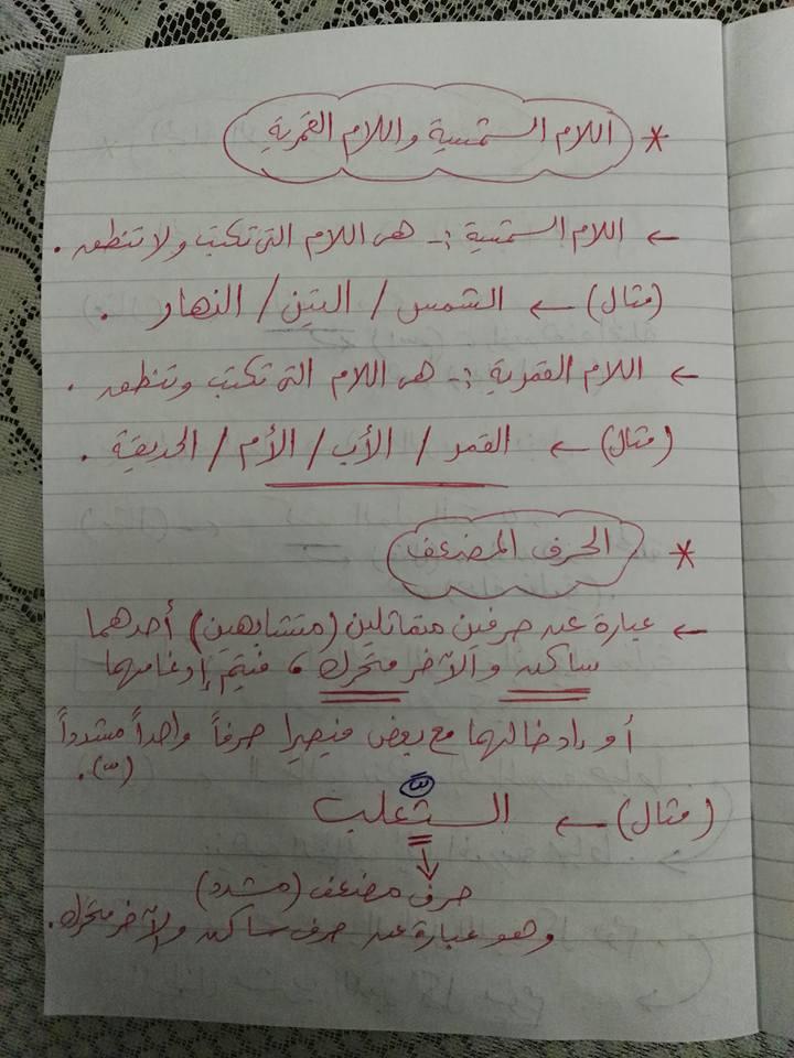 مراجعة القواعد النحوية والتراكيب للصف الثاني والثالث الابتدائي مستر إسلام سمك 2