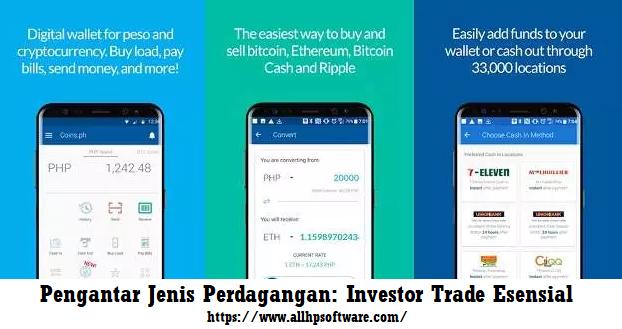 Pengantar Jenis Perdagangan: Investor Trade Esensial