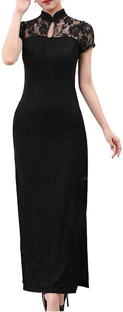 Lace Cheongsam Dresses