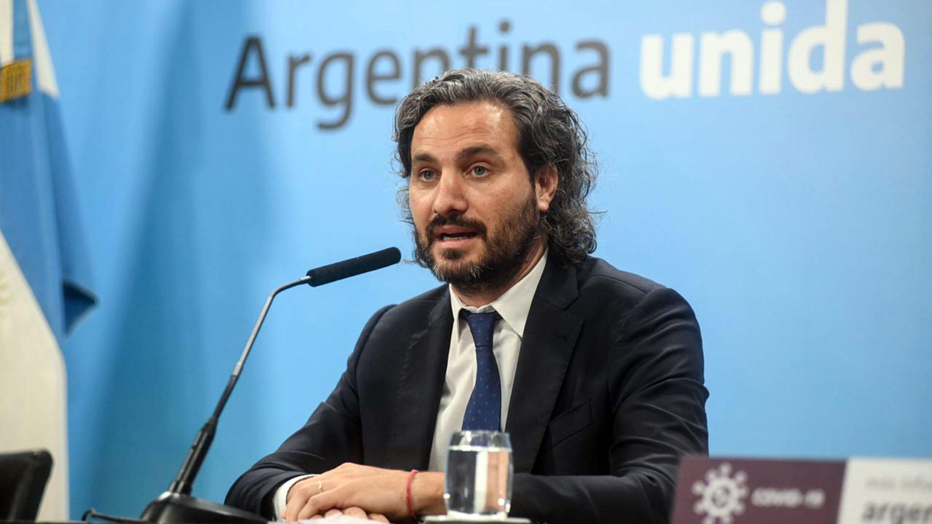 Santiago Cafiero aseguró que no hay más listas de vacunados vip y defendió a Carlos Zannini