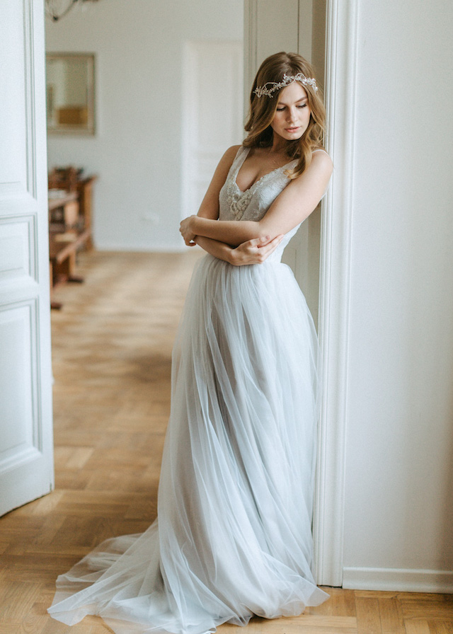 Romantic wedding dress Luiza Smirnova
