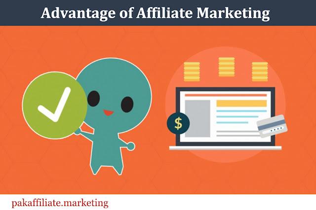 Affiliate Marketing Advantages