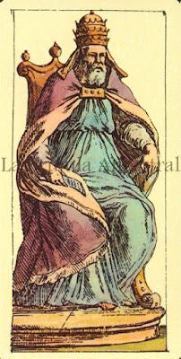 Tarot de Mitelli: El Emperador