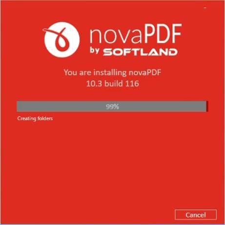 تفعيل برنامج novaPDF كامل