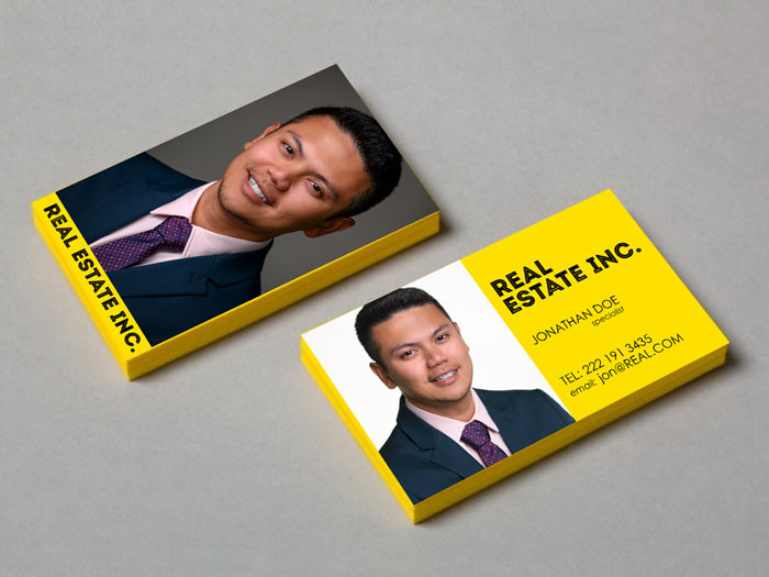 Real Estate Agent Realtor Headshots for Business cards