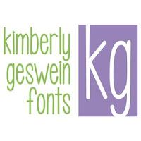 Kimberly Geswein Fonts Logo