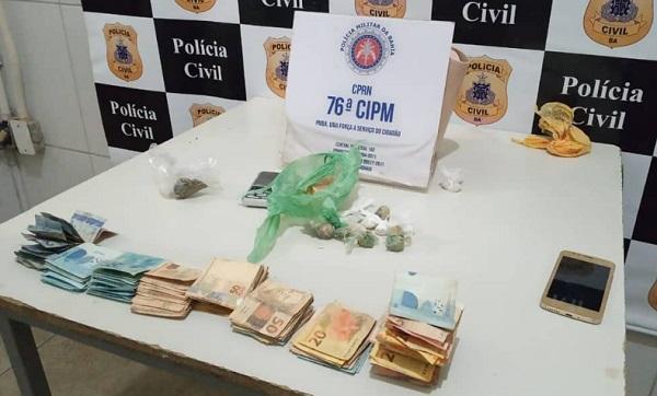 Operação policial prende casal de traficantes com drogas e R$ 7 mil em espécie em Juazeiro (BA) - Portal Spy Notícias de Juazeiro e Petrolina
