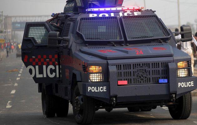 Nigeria Police Vechile
