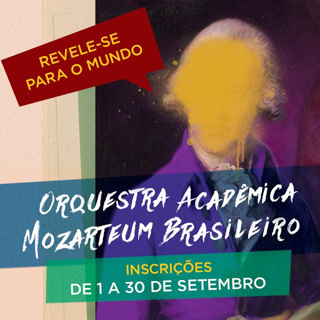 Orquestra Acadêmica Mozarteum Brasileiro - Inscrições