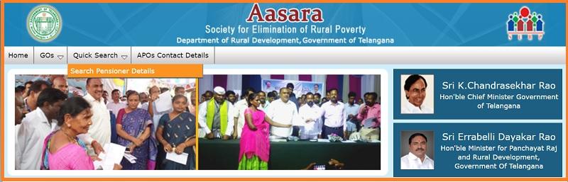 Telangana-Aasara-Pension-Scheme-official-website