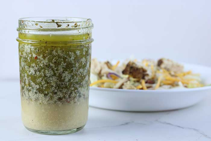 Homemade Italian Dressing Recipe With Parmesan