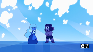 Steven Universe Here Comes a Thought Ruby and Sapphire