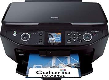 Epson Colorio PM-A840Sドライバーダウンロード