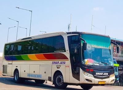 Foto Bus Sinar Jaya 54RB