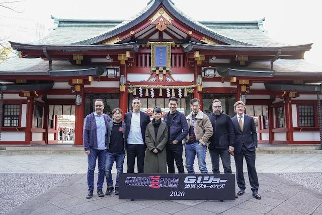 G.I.Joe Origens Snake Eyes  Filmagens Iniciadas no Japão